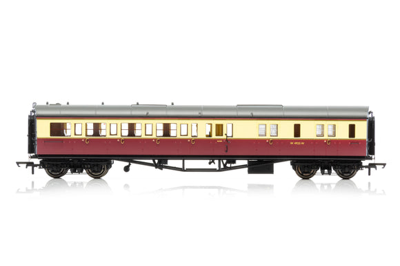 Hornby R4685A BR, Collett 'Bow-Ended' Corridor Brake Third (Right Hand), W4925W - Era 4 - Chester Model Centre