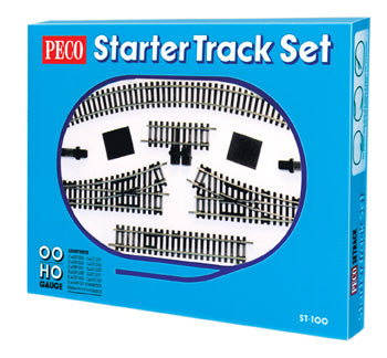 Setrack OO/HO Starter Track Set  2nd Radius - Chester Model Centre