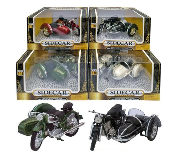 Motor Cycle & Sidecar Assortment - Chester Model Centre