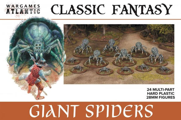 Wargames Atlantic - Classic Fantasy - Giant Spiders - Chester Model Centre