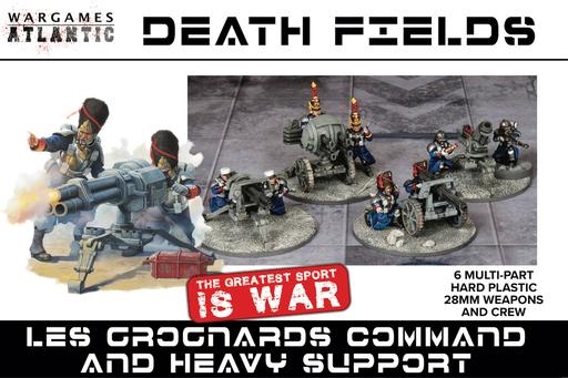 Wargames Atlantic - Death Fields - Les Grognards Command and Heavy Support - Chester Model Centre