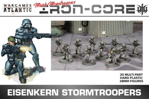 Wargames Atlantic - Iron Core - Eisenkern Stormtroopers - Chester Model Centre