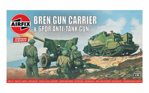 Bren Gun Carrier & 6PDR Anti-Tank Gun - Chester Model Centre