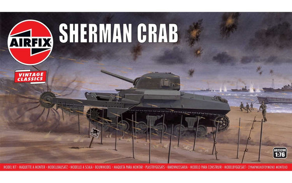 Sherman Crab - Chester Model Centre