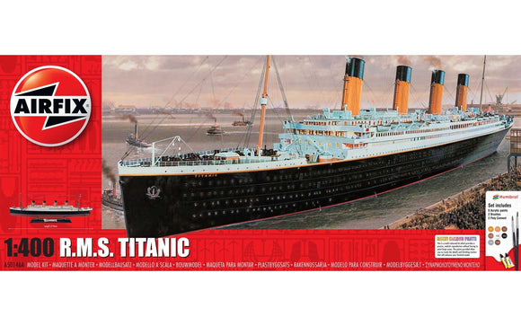 RMS Titanic Gift Set 1:400 - Chester Model Centre