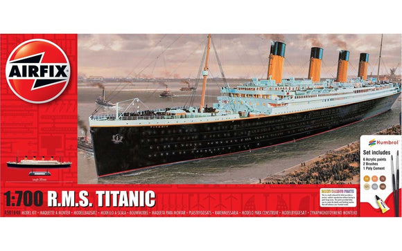 R.M.S. Titanic 1:700 Gift Set - Chester Model Centre