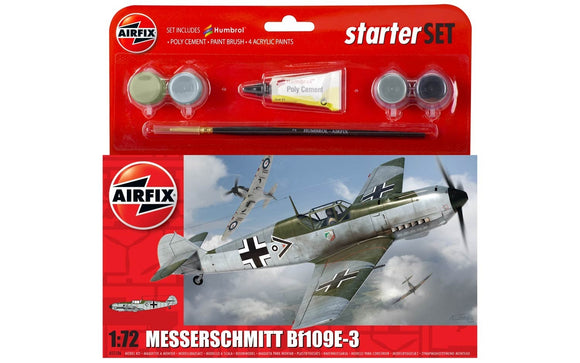 Messerschmitt Bf109E-3 Starter Set - Chester Model Centre