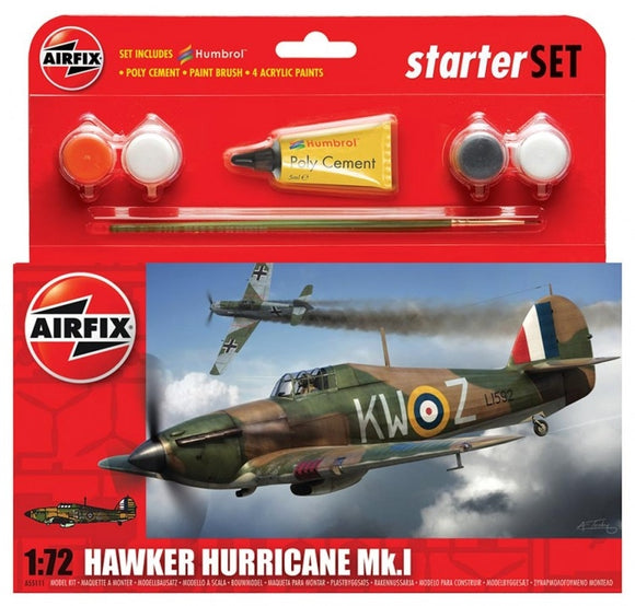 Hawker Hurricane MkI Starter Set - Chester Model Centre