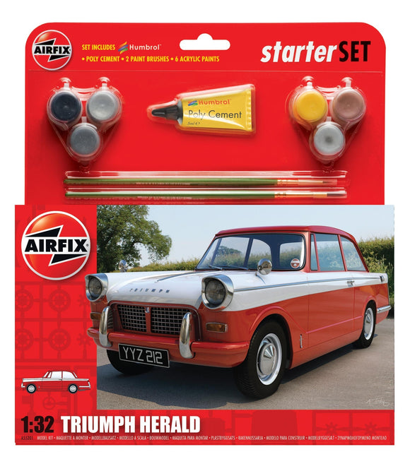 Triumph Herald Medium Starter Set - Chester Model Centre