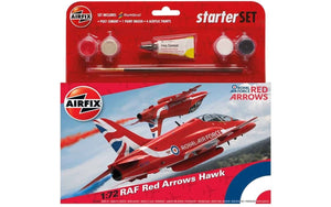 RAF Red Arrows Hawk Starter Set - Chester Model Centre