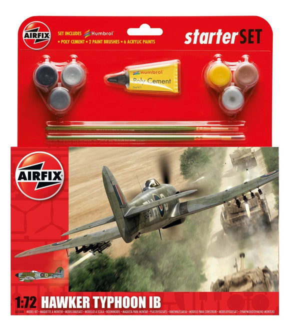 Hawker Typhoon IB Starter Set - Chester Model Centre
