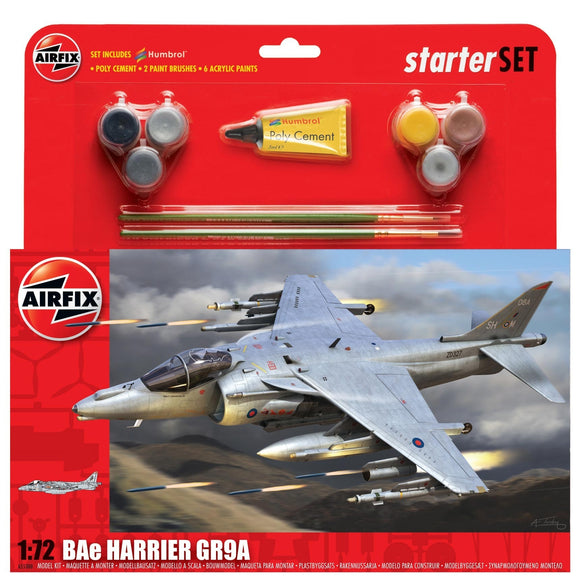BAe Harrier GR9A Starter Set - Chester Model Centre