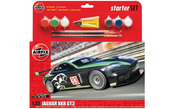 Jaguar XKRGT Large Starter Set - ChesterModelCentre