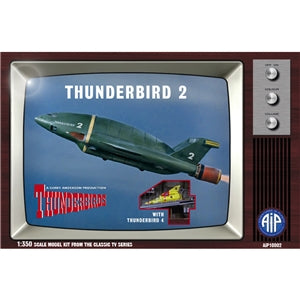 Thunderbirds - Thunderbird 2 with Thunderbird 4 - Chester Model Centre