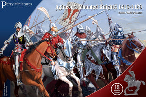 Agincourt Mounted Knights 1415-1429 - ChesterModelCentre
