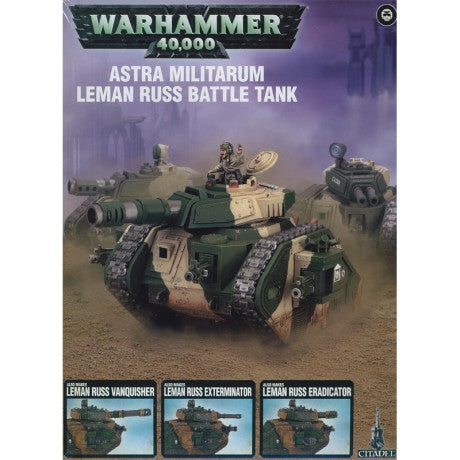 ASTRA MILITARUM LEMAN RUSS BATTLE TANK - ChesterModelCentre