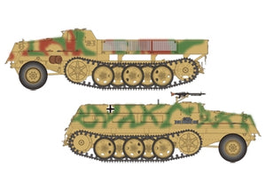 German sWS Supply Ammo Vehicle & Armored Cargo Version 2in1 - ChesterModelCentre