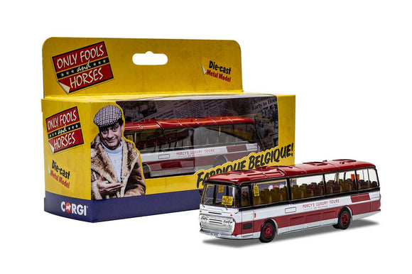 Corgi Only Fools and Horses Ford R Series Plaxton Panorama Percys Tours of Peckham Jolly Boys Outing