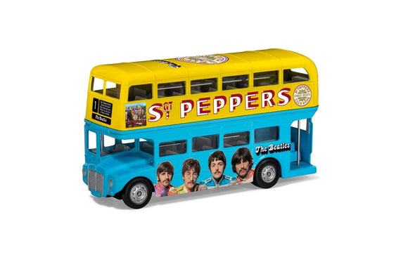 The Beatles London Bus - Sgt Peppers Lonely Hearts Club Band - Chester Model Centre