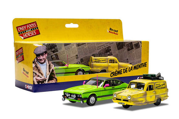Corgi CC99189 Only Fools and Horses Reliant Robin and Ford Capri Mk II - Chester Model Centre