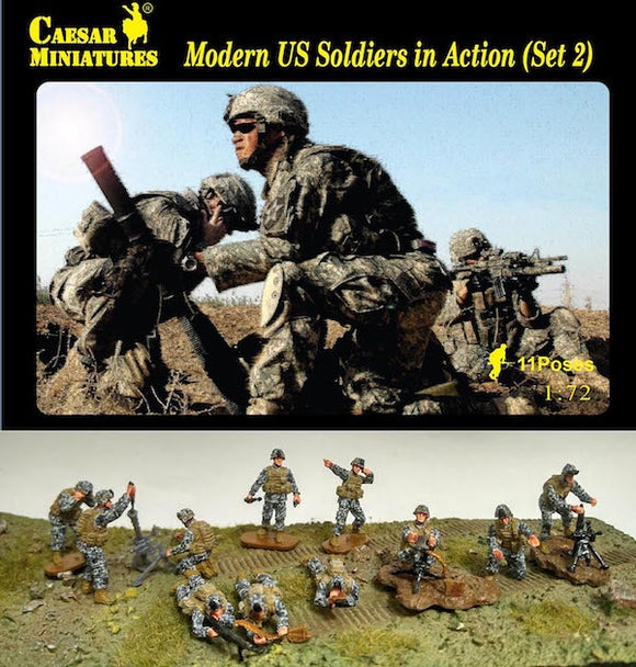 Modern US Soldiers in Action 2 - ChesterModelCentre