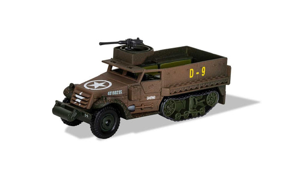 Corgi CS90631 M3 Half-Track - 41st Armoured Infantry - 2nd Armoured Division - Normandy - D Day - ChesterModelCentre