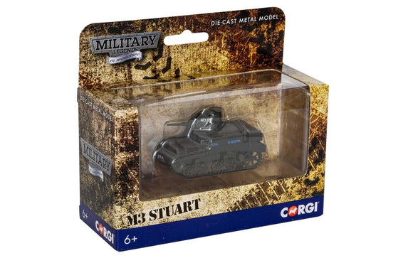 Corgi CS90641Military Legends in Miniature M3 Stuart - ChesterModelCentre