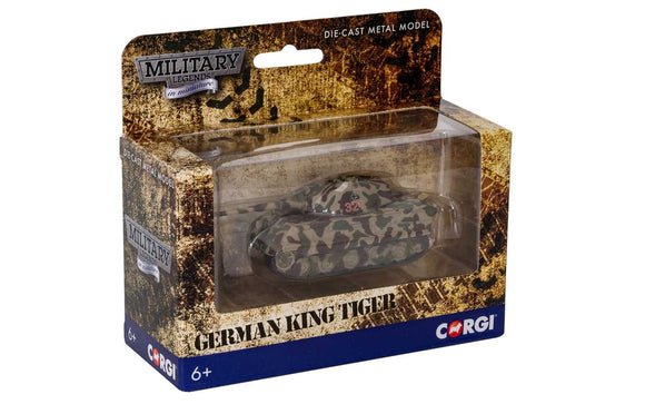 Corgi CS90642 King Tiger - sSSPzAbt 501 - France 1944 - ChesterModelCentre