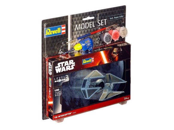 TIE Interceptor Model Set