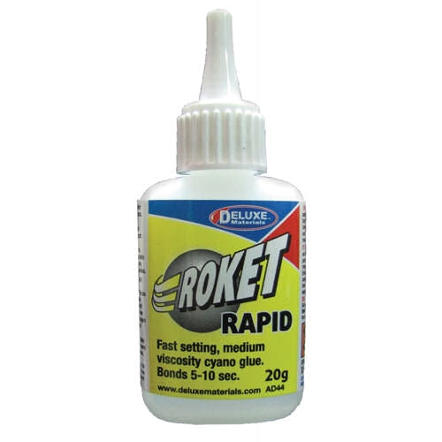 Roket Cyanoac Rapid (20gm) - Chester Model Centre