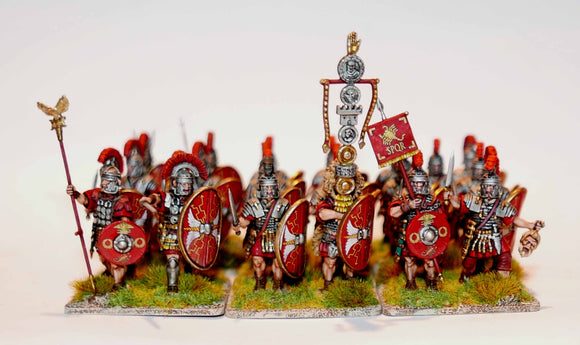 Early Imperial Roman Legionaries Advancing - Chester Model Centre