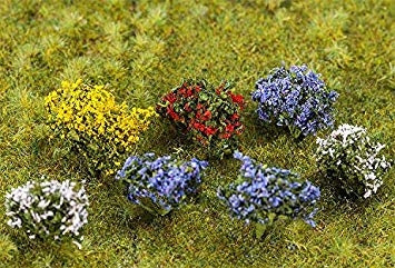 Flowering Bushes (14) - ChesterModelCentre