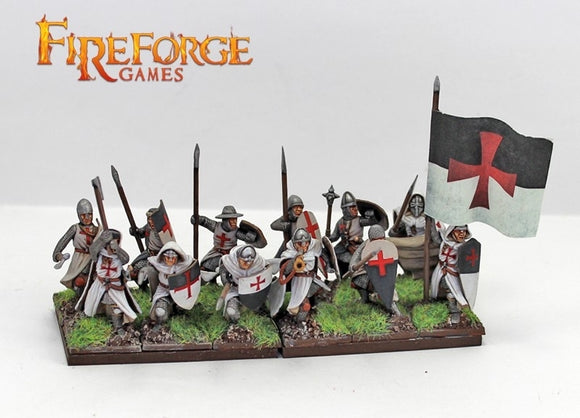 Templar Infantry - Chester Model Centre