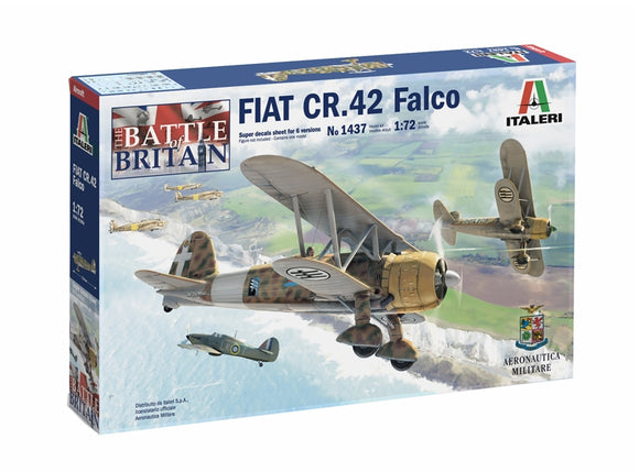 Fiat CR.42 Falco Battle of Britain Edition - ChesterModelCentre