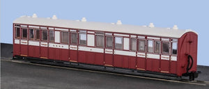 OO-9 L&B Composite Coach 1st/3rd -  L&B Livery -  No. 6 - Chester Model Centre