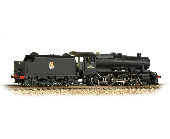 Graham Farish 372-162 LMS Stanier 8F 48608 BR Black Early Emblem - Chester Model Centre