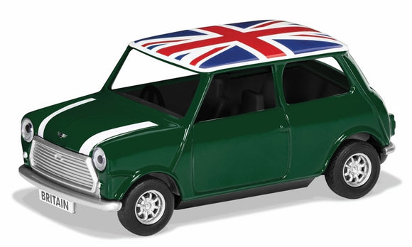Corgi Best of British - Classic Mini - Green - Chester Model Centre