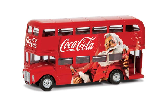Coca-Cola Christmas London Bus - Chester Model Centre