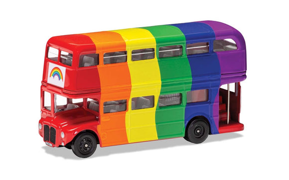 Express Yourself London Bus - Rainbow - ChesterModelCentre