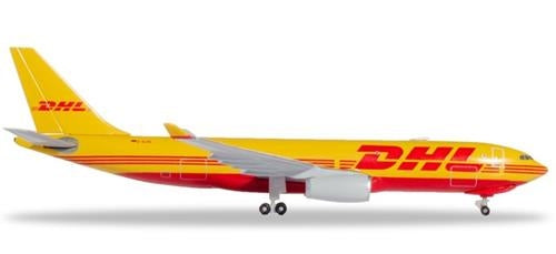 DHL Aviation Airbus A330-200F D-ALMA (1:500) - Chester Model Centre