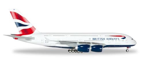 #D# British Airways Airbus A380 G-XLEL (1:200)  '556040-001 - Chester Model Centre