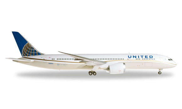 Boeing 787-9 Dreamliner United Airlines Reg N38950 (1:200)