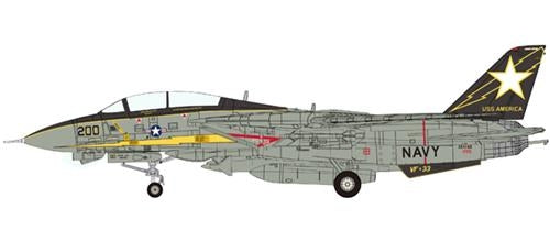 Grumman F-14A Tomcat VF-33 Starfighters U.S.S. America Gulf of Sidra 1986 Operation Attain Document March 1986 (1:200)