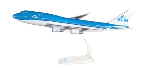 Snapfit - KLM Boeing 747-400 PH-BFV Vancouver (1:250) - Chester Model Centre