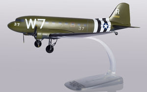 Snapfit US Army Air Force Douglas C-47A Skytrain (1:100) 316th Troop Carrier Group, 37th Troop Carrier Squadron, Operation Neptune, D-Day 75th Anniversary Edition - Chester Model Centre