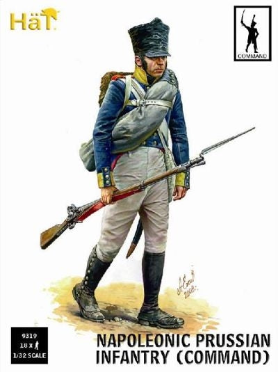 Napoleonic Prussian Infantry (Command)