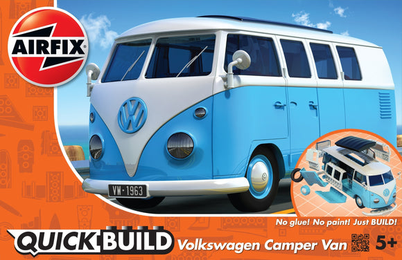Quickbuild Volkswagen Camper Van Blue - Chester Model Centre