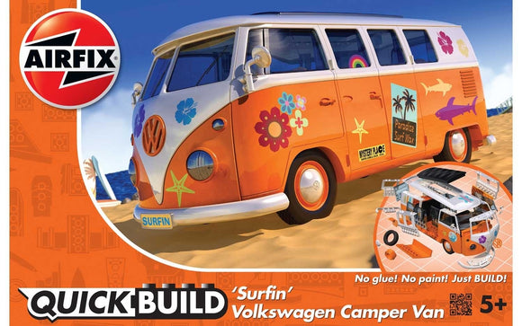 Surfin' Volkswagen Camper Van  'J6032 - Chester Model Centre