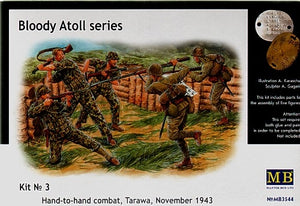 Bloody Atoll #3 Hand-to-Hand Combat, Tarawa, November 1943 - Chester Model Centre