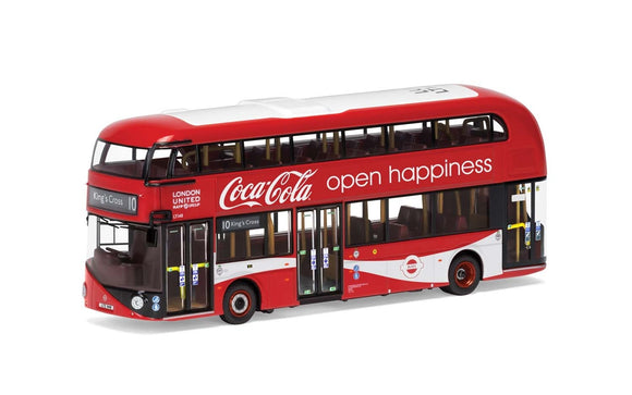 Wrightbus, New Routemaster London United, LTZ 1148, Route 10, Kings Cross, Coca Cola - Chester Model Centre